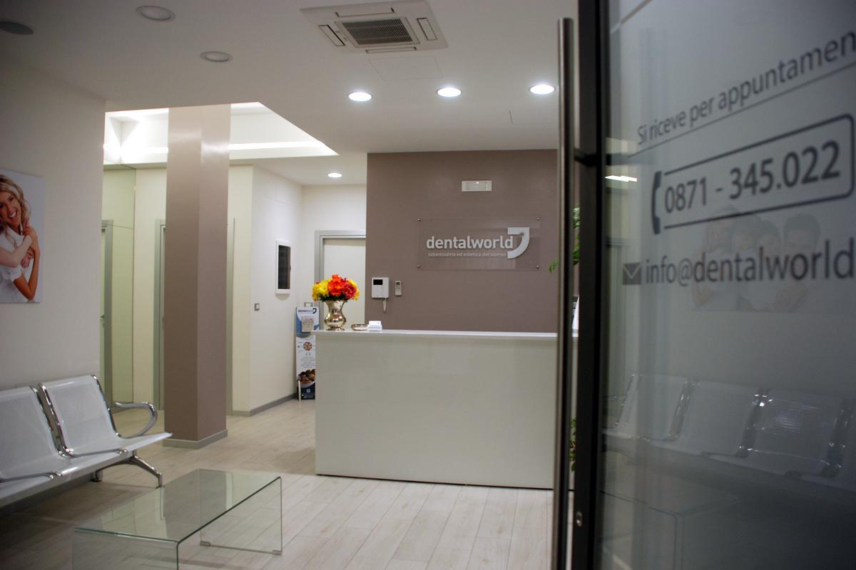 Dentalworld: ingresso